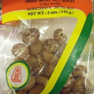 Beetle Nut Halfs